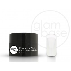 French Gel Exclusive White Thin 25