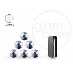 Crystals Irisierend Klar 2.5mm
