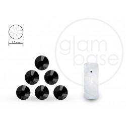 Crystals Jet Black 1.5 mm