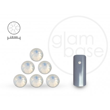 Crystals Opal White 2.8 mm