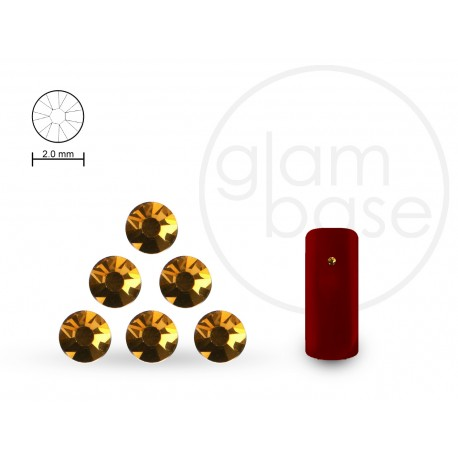 Crystals Gold 2.0 mm