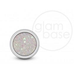 White Holographic Hex Glitter
