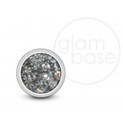 Silver Hex Glitter
