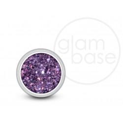 Purple Hex Glitter