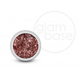 Pink Cerise Hex Glitter
