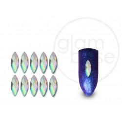 Crystal Ellipse Irisierend