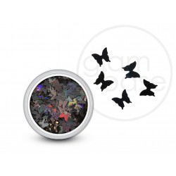 Butterflys Holographic Black